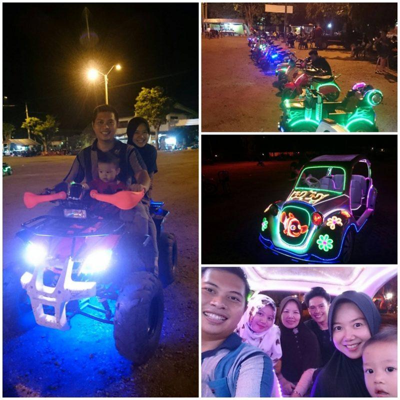 Jalan-jalan Malam ke Lapangan Samber Kota Metro