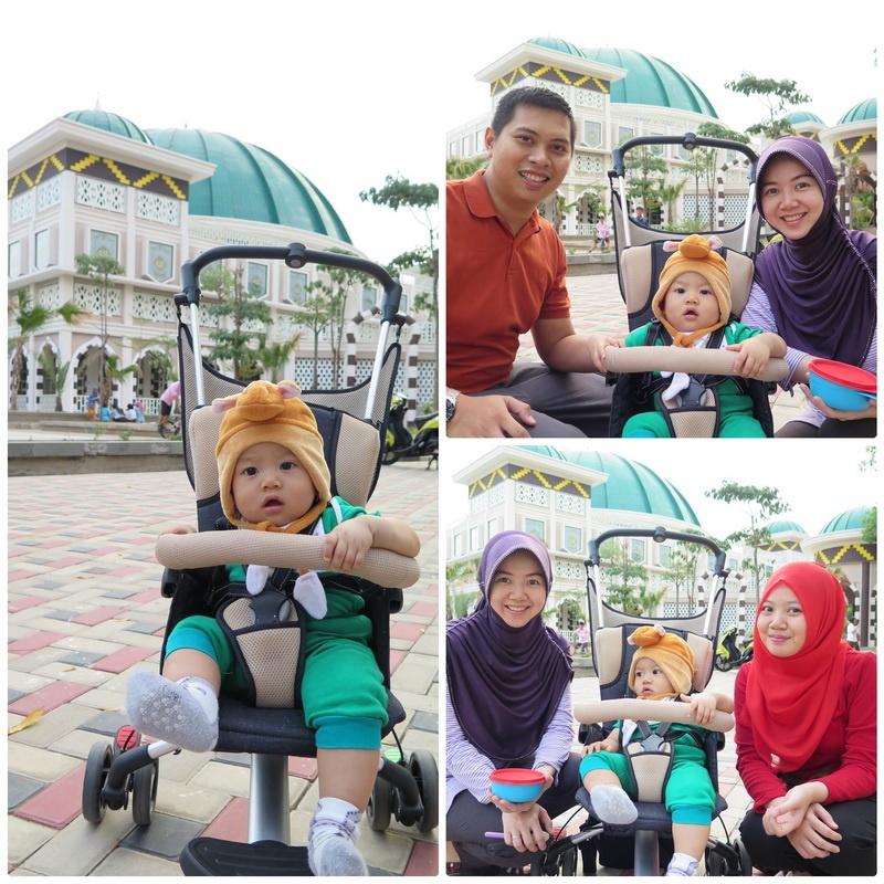 Jalan-jalan Sore ke Masjid Taqwa Kota Metro
