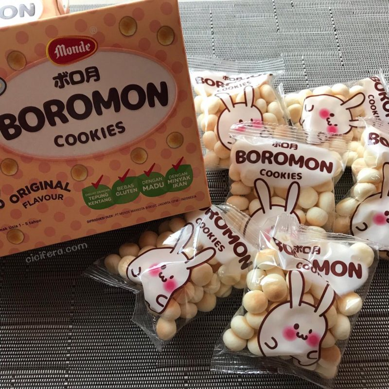 Biskuit Anak Monde Boromon