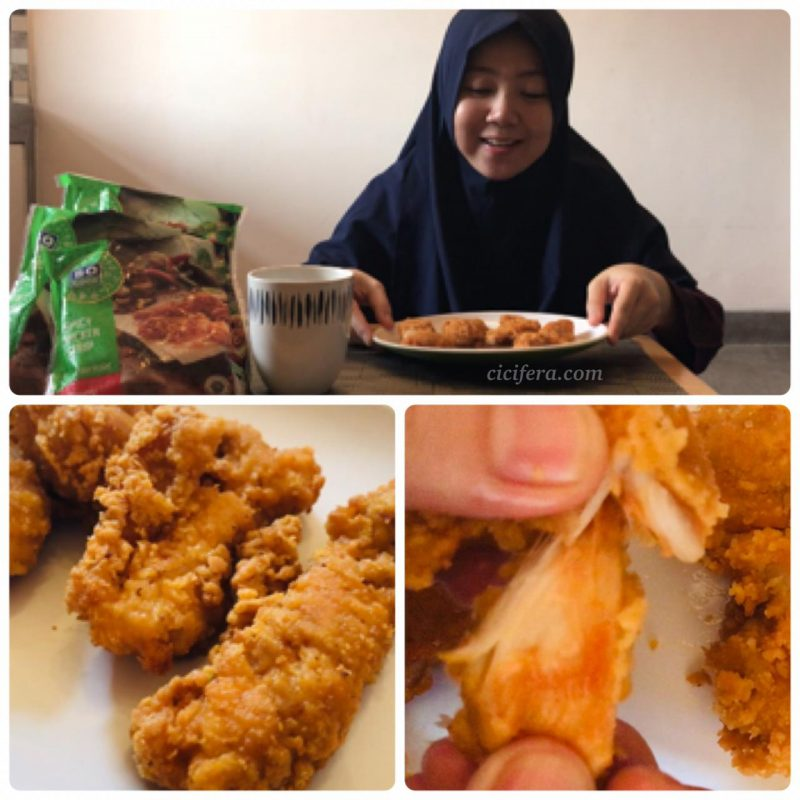 Review SoGood Spicy Chicken Strip by Cicifera